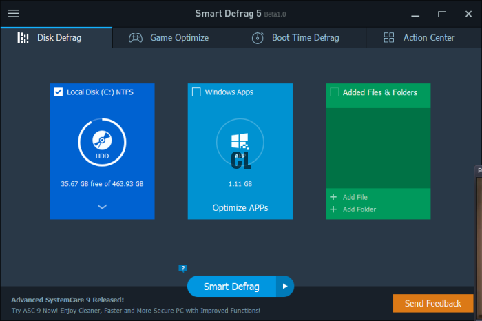 Smart Defrag 2020 Review With License Key Free Download