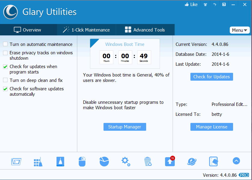 Glary Utilities Pro 2020 Review With Licence Key Free Download