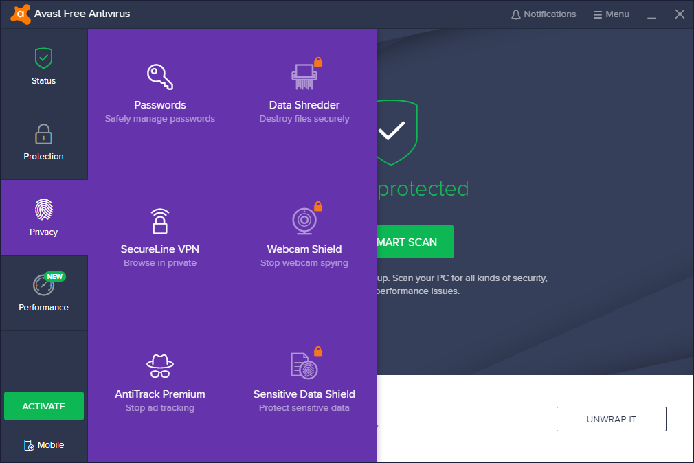 Avast Free Antivirus 2020 Crack With Activation Key Latest Version