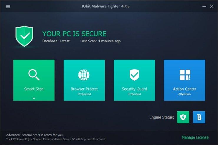 IObit Malware Fighter Pro 2020 Crack With License Key Full Download